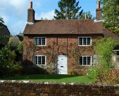 A cottage at Chawton -- reminds me of Pride and Prejudice