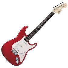 Squier Standard Strat Electric Guitar (Parchment, Rosewood Fingerboard, Candy Apple Red) http://www.brandsnstores.com/products/p/Squier-Standard-Strat-Electric-Guitar-Parchment-Rosewood-Fingerboard-Candy-Apple-Red-321600509-squier/AA2yYUfRo3o50gRsg4SXeqfS