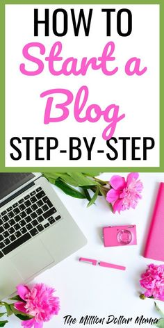 How to start a blog for beginners! Step by step instructions on how to start a blog on WordPress and potentially even make money from blogging (I do!)
