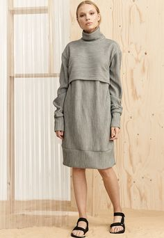 Cleanse jumper dress (concrete)   HOUSE OF SUNNY   ASOS Marketplace
