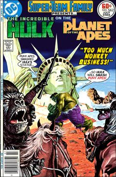 Super-Team Family: The Lost Issues!: The Hulk on The Planet of The Apes