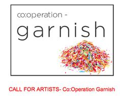 Co:Operation GARNISH - crafthaus An exhibition traveling to various US gallery locations in 2015/16.