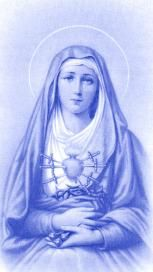 The Seven Sorrows of Our Blessed Mother with Scripture Quotes and Meditations for each Sorrow