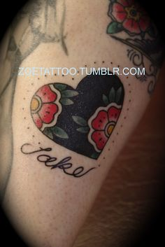 love the heart part. would be a great cover up for my tattoo on my foot... just don't need the name part.