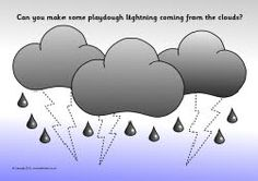 A set of playdough mats with a weather theme. Pupils are encouraged make playdough raindrops, snowflakes, rays for the sun, a rainbow shape and more. Weather Snow, Time And Weather, Weather Seasons, Preschool Boards, Preschool Games, Sparkle Box, Preschool Weather, Mouille, Five In A Row