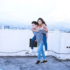 Why so perfect naman this couple? Candid o hndi so perfect! ❤️❤️❤️ (c) owner James Reid, Nadine Lustre, Jadine, Partners In Crime, Korean Actors, Candid, Fangirl, Mom Jeans, Beautiful Pictures