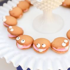 Make these simple, no bake, delicious cookies that look like friendly oysters with pearls.  Perfect for a mermaid or nautical party.