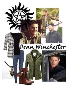 """""""Dean Winchester"""" by jess2097 ❤ liked on Polyvore featuring Paige Denim and Joseph"""