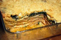 Lasagne met gerookte zalm, courgette en spinazie (Jeroen Meus) - www.Recepten.be