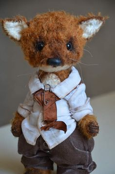 Little cute fox By Evgeniya Sidorenko - Bear Pile