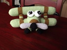 Ravelry: Nathalieke28's Ace, The Airplane - Amigurumi Pattern