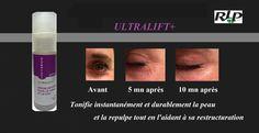 ULTRALIFT+, un sérun anti-rides pour le visage et le cou. Un effet anti-ride immédiat laissant l'aspect naturel de la peau.