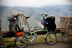 One Month of Loaded Touring on the Bromptons, or 'No, it's not a Bike Friday'…