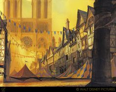 Living Lines Library: The Hunchback of Notre Dame (1996) - Notre Dame & Other Locations
