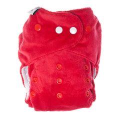 itti bitti Bitti Tutto Cloth Nappy - Red