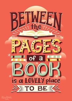 Between the pages of