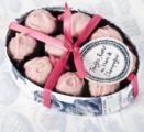 Every mother would love a delicious box of Handmade Marc de Champagne Rose Truffles from Rococo Chocolates London. Packed in a print oval box, these are the ideal Mother's Day gift. Custom Packaging Boxes, Box Packaging, Cosmetic Packaging, Champagne Truffles, Cherry Candy, Chocolate Packaging, Pink Champagne, Baking Ingredients, White Chocolate