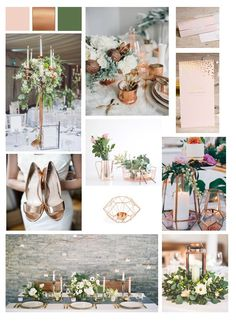 Wedding Event Planner, Table Decorations, Inspiration, Design, Home Decor, Dimensional Shapes, Photo Galleries, Copper, Wedding Ideas
