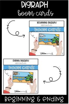 Are you looking for an interactive, no prep, digital resource? Your students will LOVE this set of 19 Beginning Digraph Boom cards. These task cards have your students practicing digraphs by looking at the picture and choosing the correct digraph. They even getting typing practice to type the digraph! There are even four cards that have students practicing listening to a word and matching the correct picture.