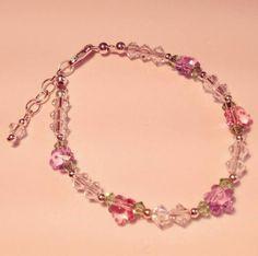 The perfect little flower girl bracelet!