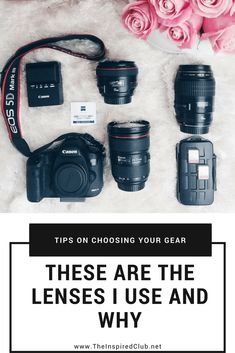 Today on The Inspired Club, photographer Jana Williams talks about which Canon lenses she uses and why!