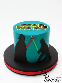 Pirikos Cake Design: Bolo Star Wars em 2D