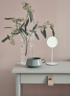 Move over Serenity Blue – we're pairing our Rose Quartz with something a bit different… - The Maker Place Interior Styling, Interior Decorating, Interior Design, Decorating Blogs, Design Minimalista, Sweet Home, Home Decoracion, Ideas Hogar, Pink Walls