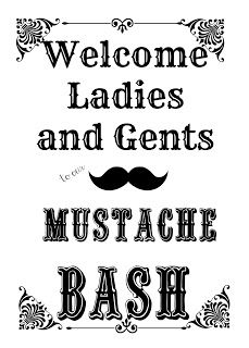 With a Grateful Prayer and a Thankful Heart: Mustache Bash Birthday Party w Lots of How-To's