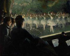 Everett Shinn - The White Ballet [1904]