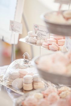 Vintage Hot Air Balloon Baby Shower - French Macaroons