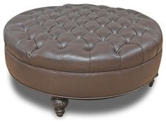 large fabric ottoman coffee table