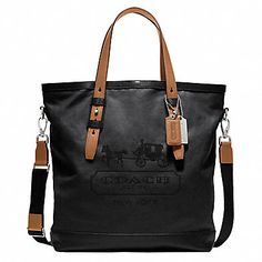 Coach Bleecker Legacy Waxed Canvas Tote