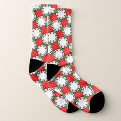 #Christmas color pattern socks - #trendy #gifts #template