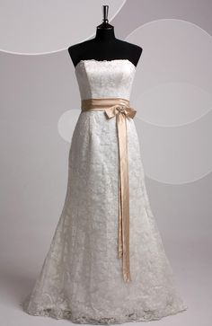 I have discovered, I want a straight looking dress, no pouf-ness