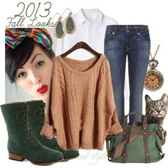 2013 Fall Looks, created by mk-style on Polyvore