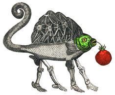 Jan Svankmajer art - strange monsters