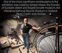 Antique Bicycles from Holland Make Their Mark on New Jerusalem Exhibition - The largest international bicycle exhibition ever seen in Israel, the 2 x 200 Bicycle Exhibition, is now on display at the Bloomfield Science Museum in Jerusalem. Featuring rare bicycle wheel models including historical collections from Canada, Holland, the United States, and Israel, the interactive exhibition marks 200 years to the invention of the first bicycle.