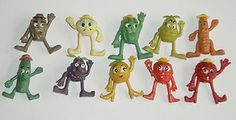 "<3 1970S PENCIL TOPPERS - I had the ""Pear"""