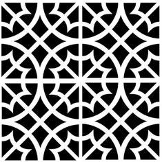 artjuvenation: Moroccan Stencils