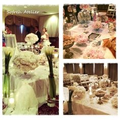 "Persian wedding spread - Sofreh ye aghd by ""Sofreh Atelier"" Washington DC Iranian wedding"