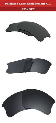 Polarized Lens Replacement Compatible with Oakley Flak Jacket XLJ Sunglasses Lenses Polarized Black. Polarized Lens Replacement Compatible with Oakley Flak Jacket XLJ Sunglasses Lenses Polarized Features: 1. Made of premium quality which offers 100% UV protection & 100% polarized 2. Precison cut and guaranteed to fit with the original Oakley Flak Jacket XLJ frame extremely seamless 3. Water,sweat,oil and dust resistant 4. Easy to install 5. Reduces glare and enhances contrast perfectly...