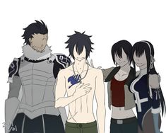 Silver, Ultear, Ul and Gray Fullbuster || Fairy Tail