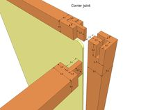 wooden corner joints - Google Search