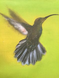 Don't stop believing on the journey of life with Hummingbird! http://www.judirheealloway.com/purchase/spiritual-art/