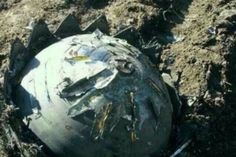 Unidentified Metal Spheres Fall From Sky in China.  Metal objects in the form of spheres surrounded by jagged-edged crowns fell from the sky in northeastern China on Friday and Saturday.  Altogether, eight of these unidentified objects fell in the city of Qiqihar. State-run media outlets reported that one of the balls was a little over 2 feet in diameter and weighed about 90 pounds. Locals saw the fiery balls falling.