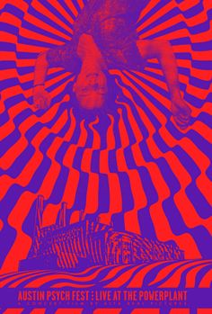 austin psych fest posters - Google Search