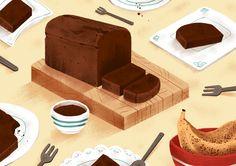Food illustration - Precedent Magazine