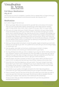 Full Moon Ritual - I have not read this so I cannot vouch for its accuracy or even if I agree with it.