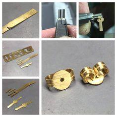Soldering Jewelry, Jewelry Clasps, Jewelry Show, Gems Jewelry, Metal Jewelry, Jewelry Art, Jewelery, Bijoux Design, Jewelry Design