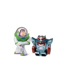 Toy Story 3 Sparks & Laser Blast Buzz Lightyear Action Figure 2-Pack | ToyZoo.com
